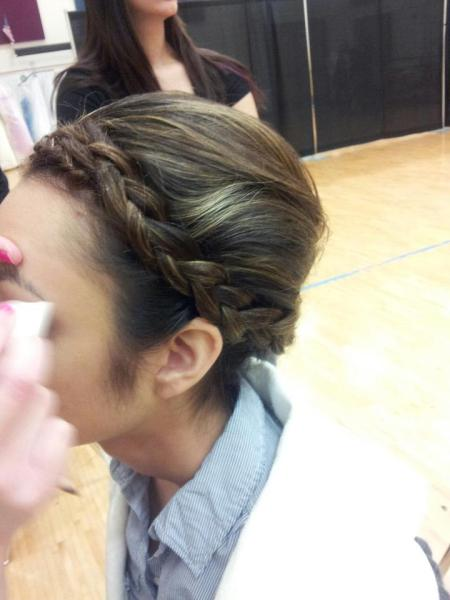 Salon by K. Braided updo